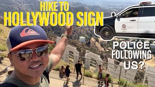 Hike to The HOLLYWOOD SIGN   Los Angeles Famous Landmark   Filipino in America