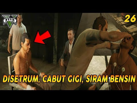 MISI INTEROGASI PALING KEDJHAM | PANDUAN MISI GTA 5 (26) BY THE BOOK 100% COMPLETION / GOLD MEDAL