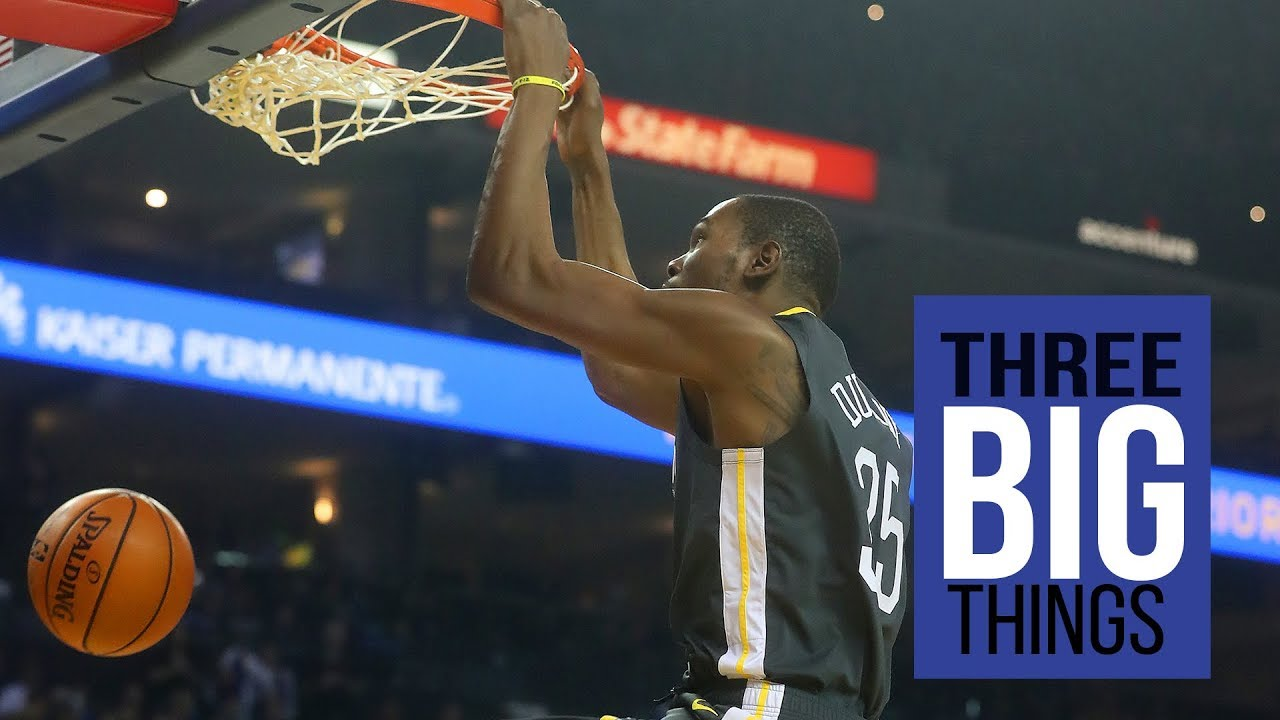 "3 Big Things: ""Dog days,"" Durant and the Bench in Warriors vs. Heat"
