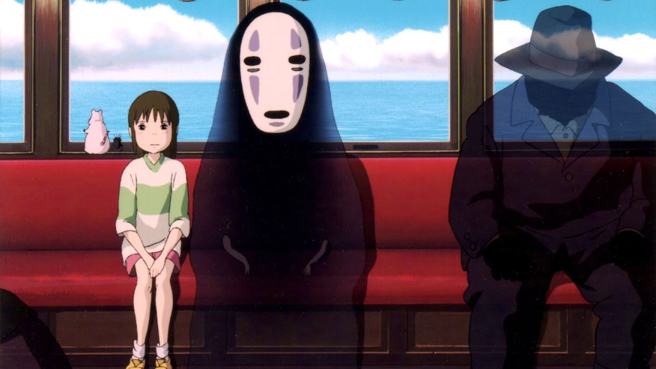 One Of The Best Scenes In All Of Film Spirited Away S Train Scene Youtube