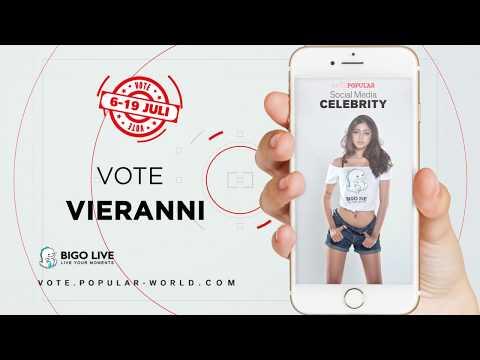 Vote VIERANNI | Miss POPULAR Batch 3 - Social Media Celebrity 2018