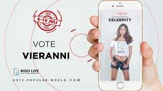 Video Vote VIERANNI | Miss POPULAR Batch 3 - Social Media Celebrity 2018 download MP3, 3GP, MP4, WEBM, AVI, FLV Juli 2018