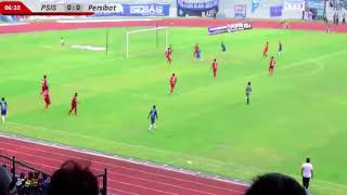 Video Gol Pertandingan PSIS Semarang vs Persibat Batang