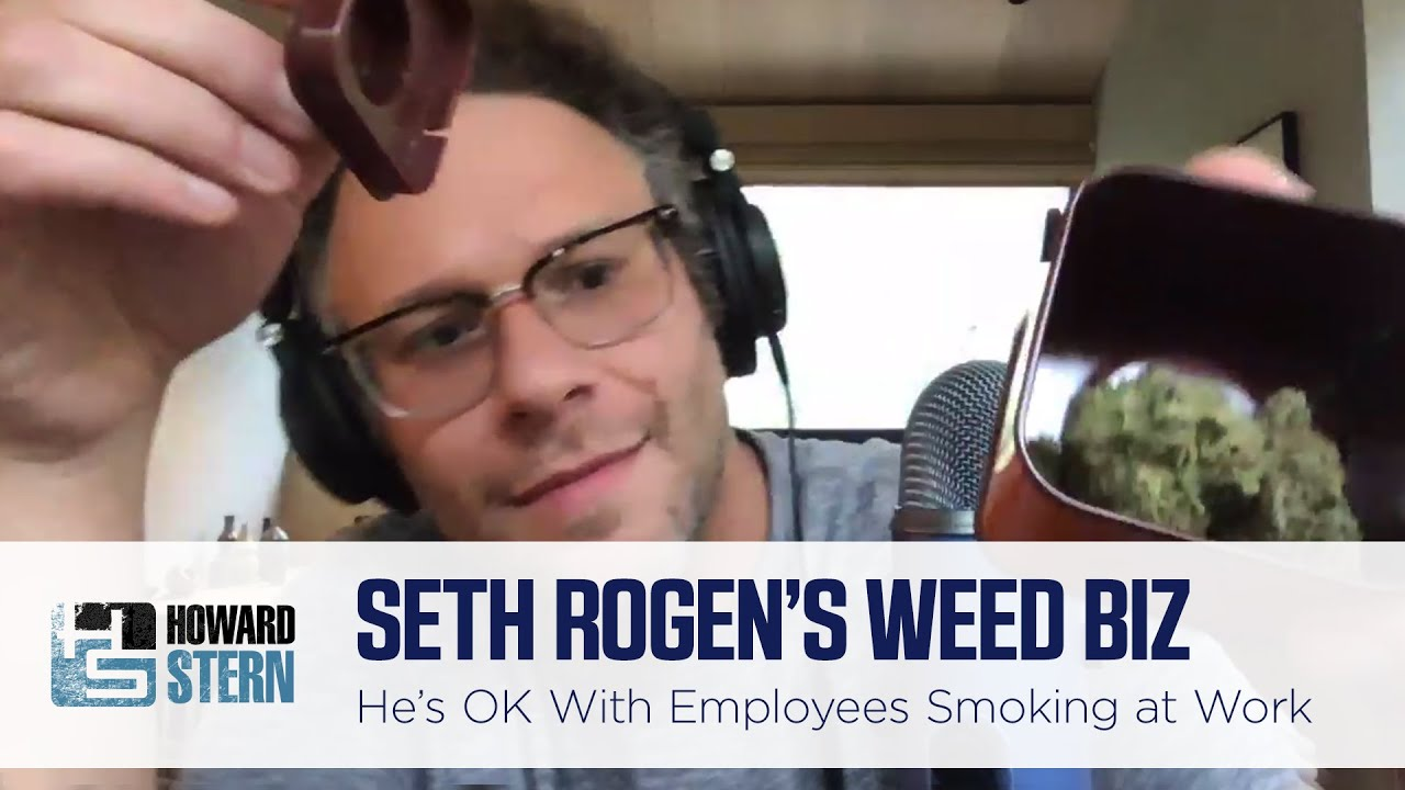 Seth Rogen Is Cool With His Employees Smoking Weed at Work