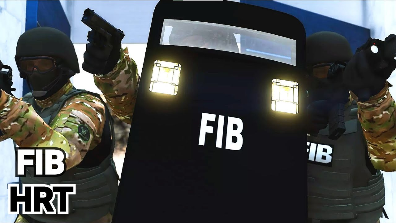 The FIB Hostage Rescue Team - GTA 5 Machinima FBI Swat Movie [4K] | Rockstar Editor