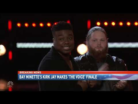 Local supporters celebrate Kirk Jay advancing to The Voice finale - NBC 15 News WPMI
