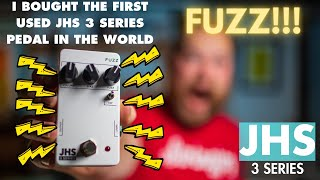 How to buy new gear, used. Buying the first used JHS 3 Series Fuzz in the world...I think?
