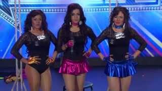 """ECUADOR TIENE TALENTO 4 """"DISFORIA QUEENS"""" AUDICION"""
