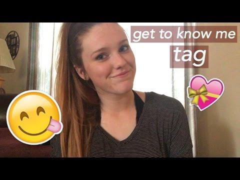 GET TO KNOW ME TAG | Kinsey Elizabeth