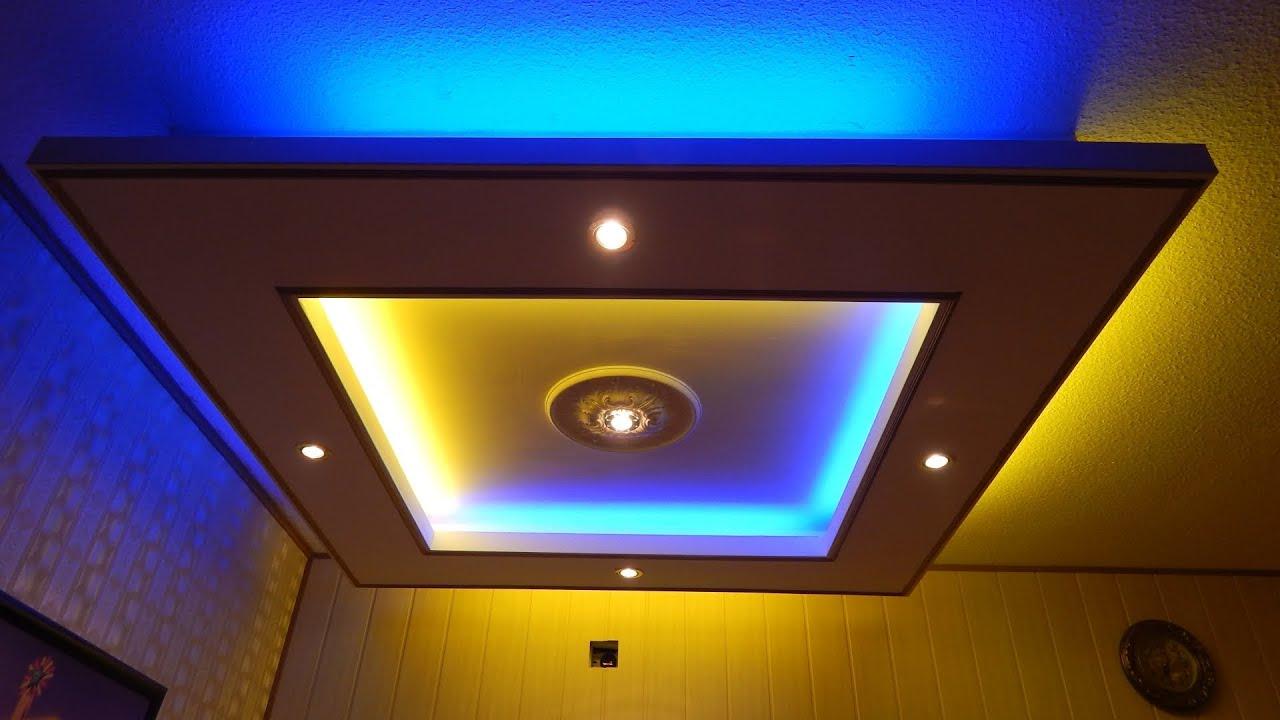 led beleuchtung wohnzimmer decke indirekte beleuchtung wohnzimmer, Gestaltungsideen