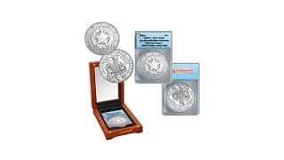 2015 PR70 FDOI LE 202 U.S. Marshals Silver Coin