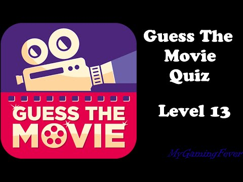 Guess The Movie Quiz - Level 13 Answers