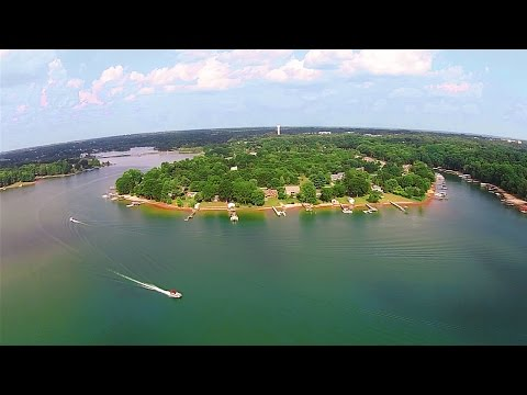 Aerial Tour of Lake Norman