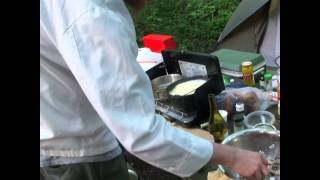 Mixed Seafood Fettuccine Alfredo - Memorial Day Campground Cooking  [s02e04].avi