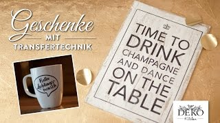 How to: Last-Minute Weihnachtsgeschenke basteln mit Vorlage | Deko Kitchen