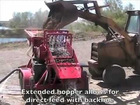 Mobile Placer Mining Plant