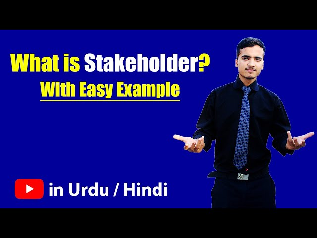 stakeholder definition non hindi