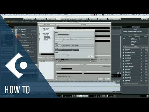 How to Utilize the Naming Scheme in Cubase | Q&A with Greg Ondo
