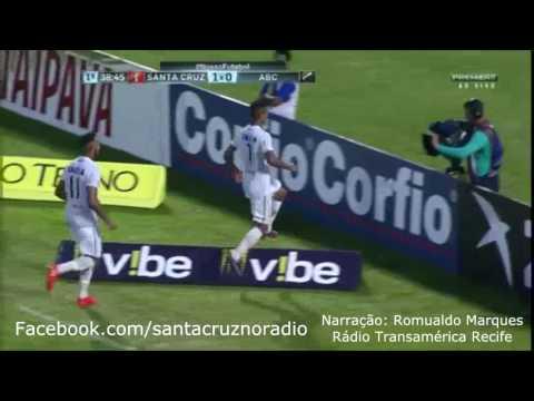 3.6.17 - Santa Cruz 2x1 ABC - Nar. Romualdo Marques, Rádio Transamérica Recife