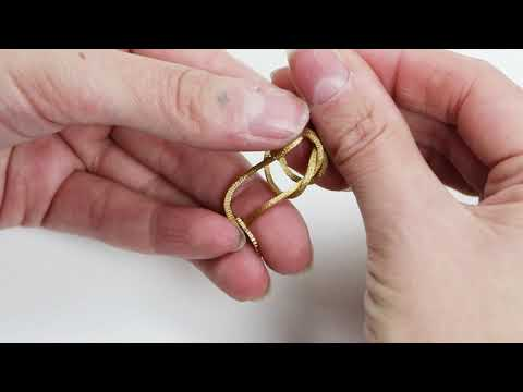 DIY tutorial: Sliding jewellery knot making with wire♡ DIY