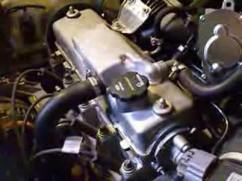 Стук двигателя Лада Калина 1.6 8кл на горячую - YouTube