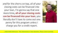 USDA Refinance Mortgage Program