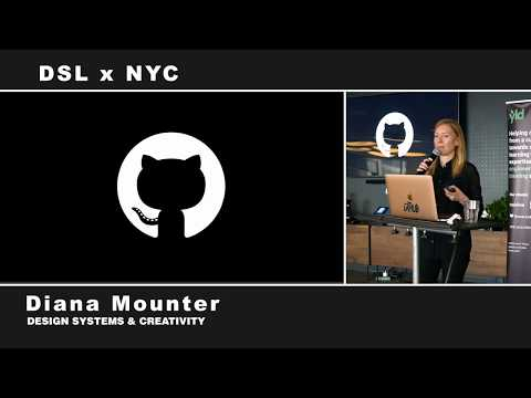 Design Systems At Github - Diana Mounter - Design Systems London X NYC