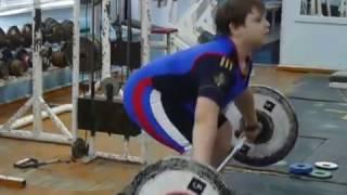 Бикмулин Илья, 11 лет, Тяга+рывок 30 кг