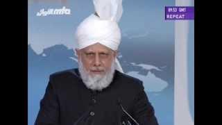 English Translation: Address to Ladies at Jalsa Salana UK 2013 by Hazrat Mirza Masroor Ahmad