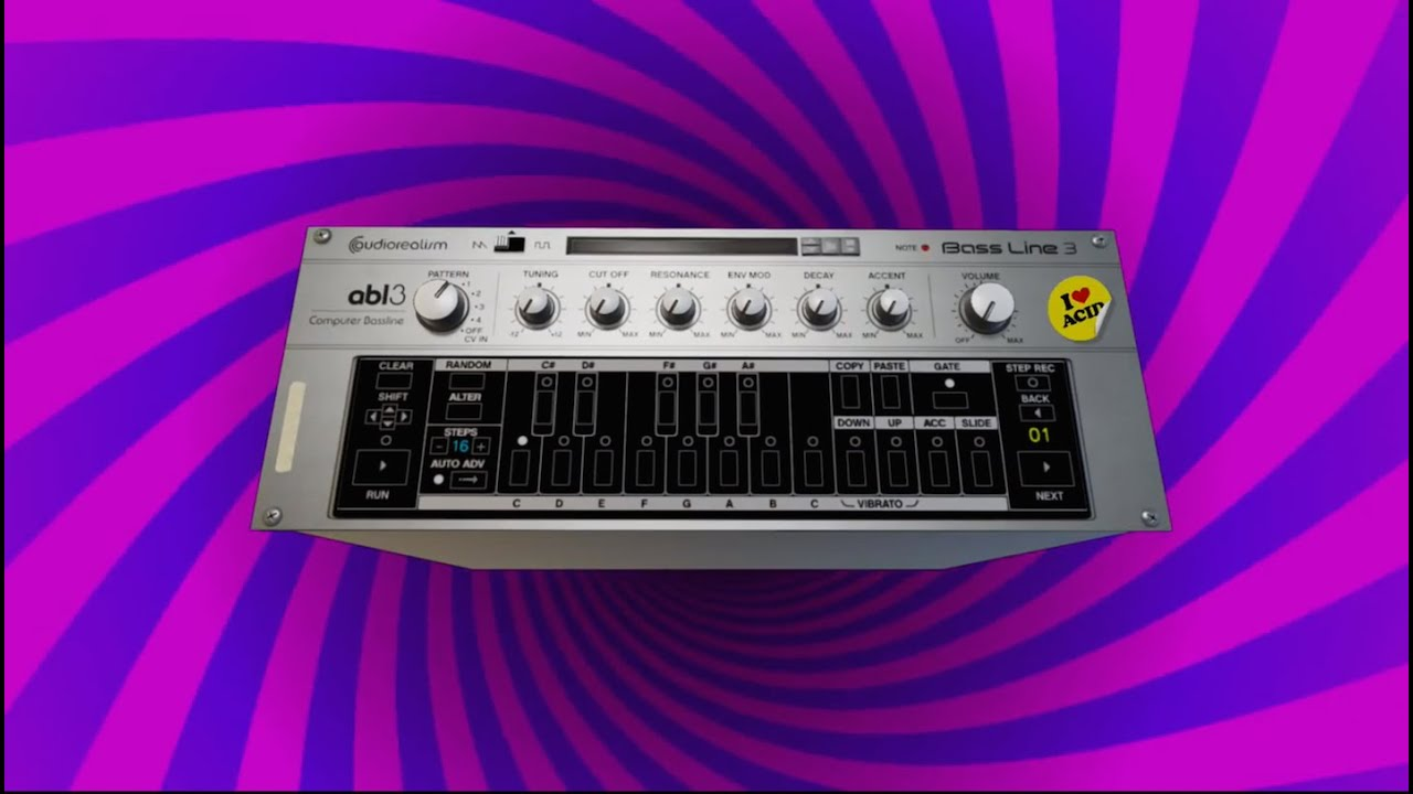 ABL3 Computer Bassline | Emulated Classic | Shop | Propellerhead