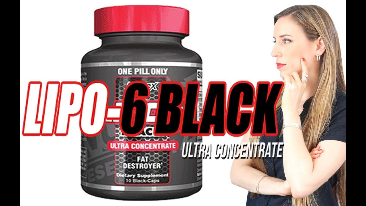 lipo 6 black ultra concentrate mujeres