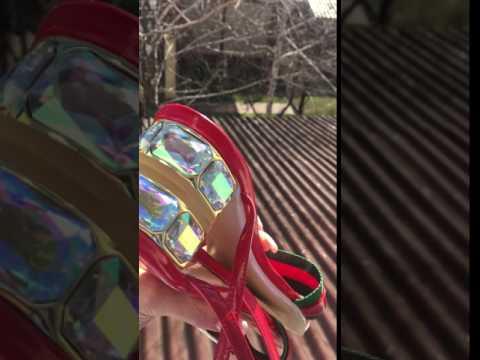 Босоножки в колготках видео I Sux