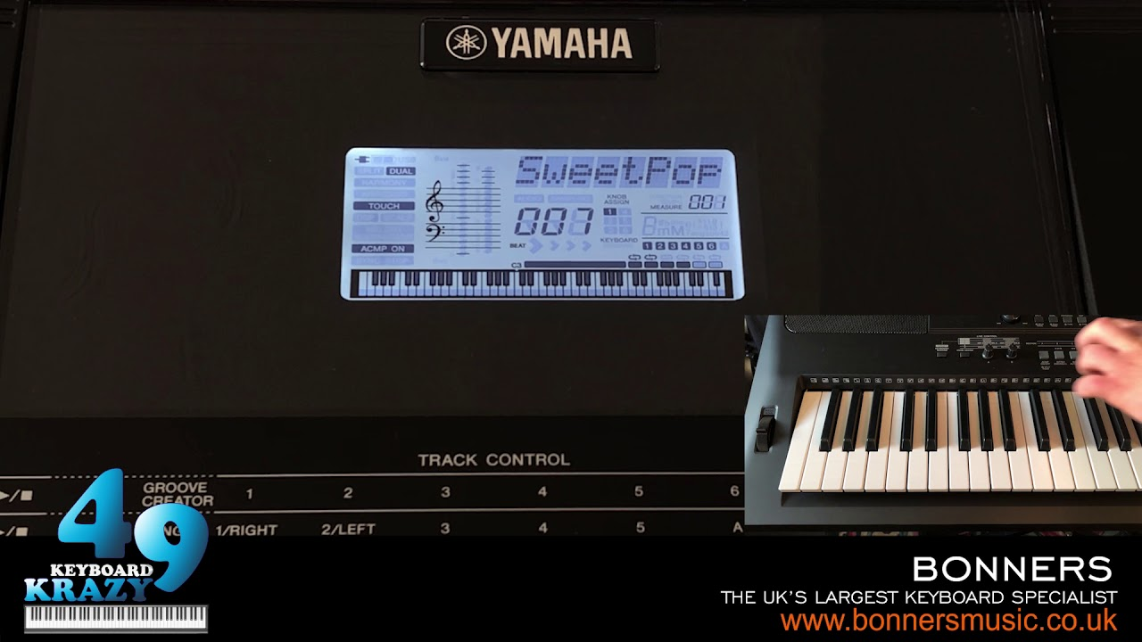 the new yamaha psr ew410 keyboard 235 auto accompaniment. Black Bedroom Furniture Sets. Home Design Ideas