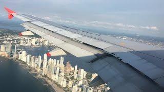 Miami Cartagena   Avianca   Full Flight