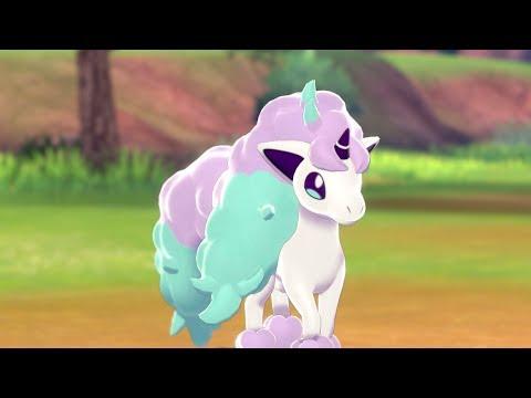Meet Galarian Ponyta in Pokémon Shield! ?️