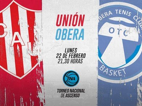TNA - Unión de Santa Fe vs. Oberá Tenis Club - 22.02.2016