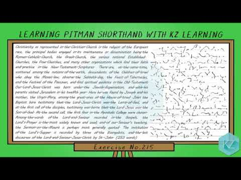 pitman-shorthand---exercise-no.215-dictation-(70-wpm)---kz-learning