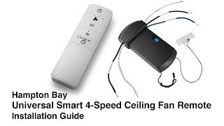 How to Install the Universal WINK Ceiling Fan Remote Control