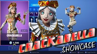 Fortnite NEW CRACKABELLA Showcase