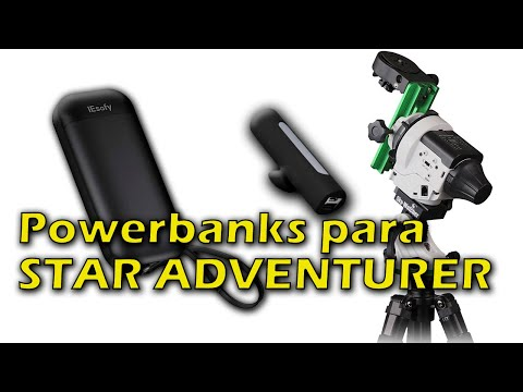 2 Powerbanks USB ??? para tu STAR ADVENTURER (Que no se apagan) ?