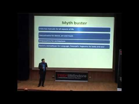 Imbibing ideas through mythology: Anand Neelakantan at TEDxIIMIndore
