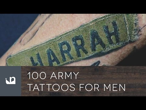 100 Army Tattoos For Men