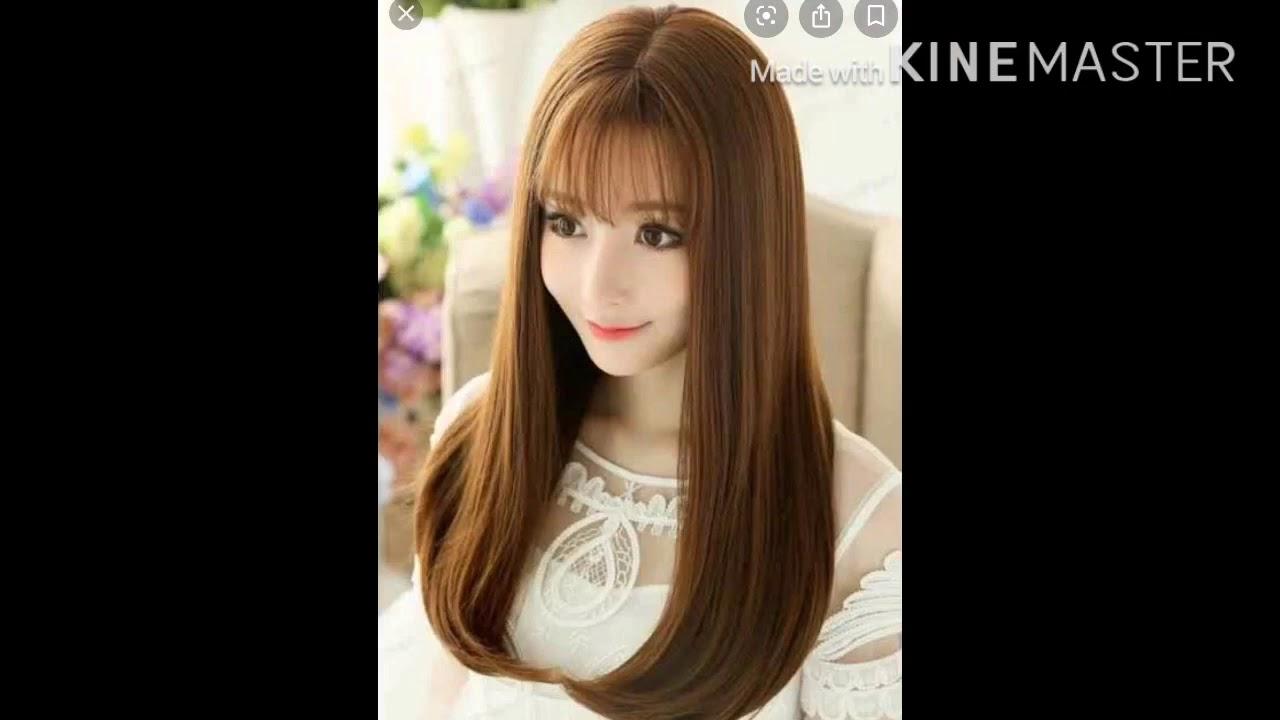 Model Potong Rambut Panjang Wanita Korea Model Rambut Panjang Wanita Youtube