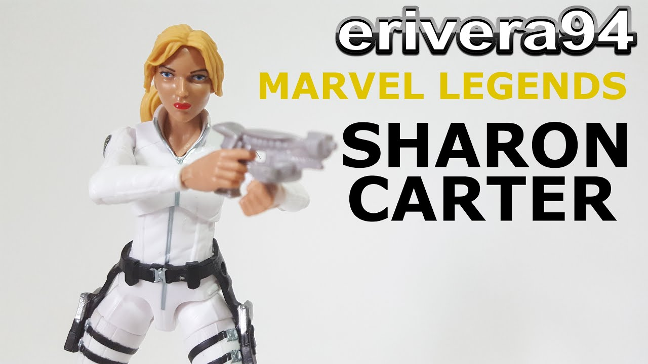 Captain America Peggy Carter Marvel Legends