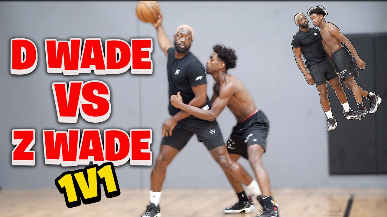 Download Dwyane Wade vs Zaire Wade *INTENSE* 1v1