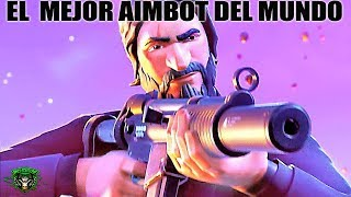 FORTNITE PELICULA how to improve Aim *BEST AIMBOT OF THE WORLD* as improving aim