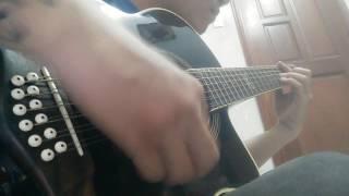Text sound guitar 12 string