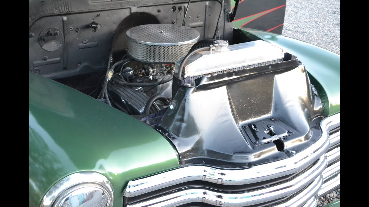 1950 Chevy Pickup Truck, V8 Automatic, Classic Daily Driver - YouTube