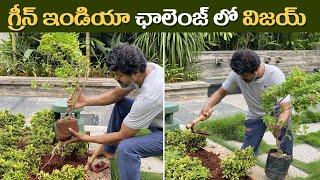 Thalapathy Vijay Accept Mahesh Babu Green India Challenge |గ్రీన్ ఇండియా ఛాలెంజ్ లో విజయ్| IG Telugu