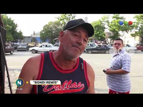 """El """"bondi Remís"""" - Telefe Noticias"""